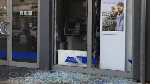 Geldautomat Obertshausen gesprengt