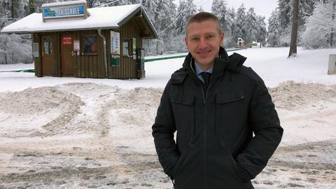 Gersfelder Bürgermeister Steffen Korell