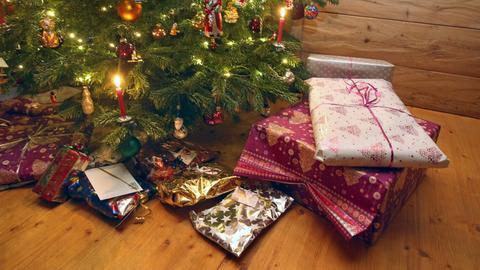 Weihnachtsgeschenke Sujet