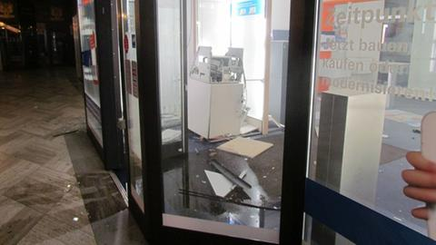 Gesprengter Geldautomat in Wetzlar