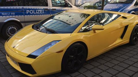 Gestohlener Lamborghini