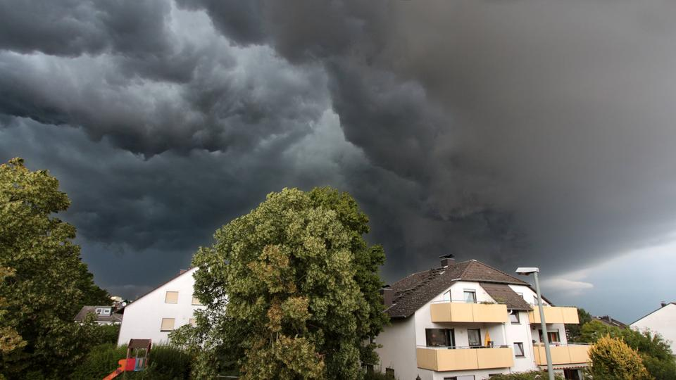 Unwetter in Deutschland - cover