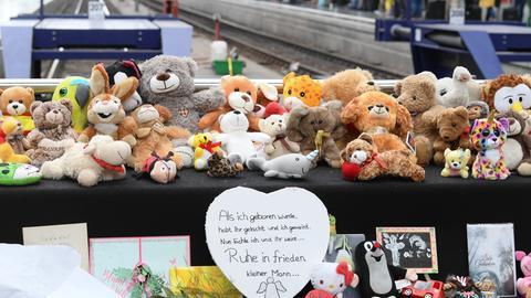 Gedenkstelle am Frankfurter Hbf