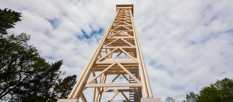 Modell vom neuen Goetheturm