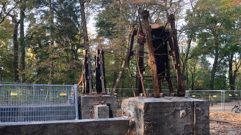 Reste des Goetheturms