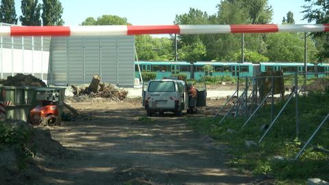 Auf dieser Baustelle wurden zwei Stabbrand-Granaten gefunden