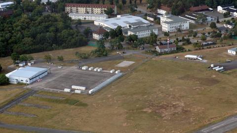 Das Gelände am August-Euler-Flugplatz aus der Vogelperspektive