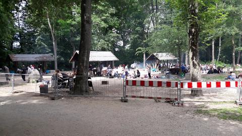 Grillplatz in Frankfurt