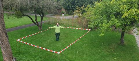 23,4 Quadratmeter: So viel Grünfläche stehen jedem Einwohner von Kassel zur Verfügung.