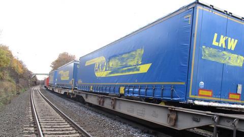 Der Güterzug bei Fulda