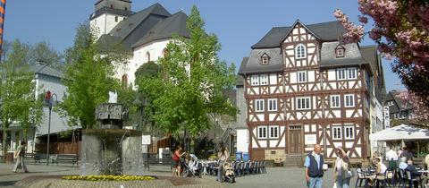 Marktplatz in Haiger