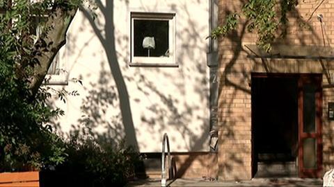 Das Haus in Frankfurt-Nied, in dem das Opfer lebte