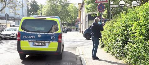 Spurensicherung in Hanau