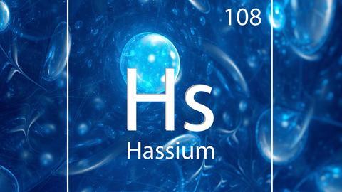 Periodensymbol Hassium
