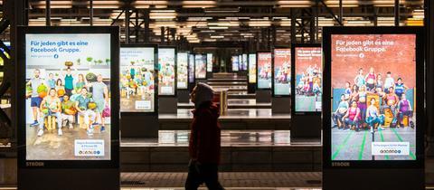 Gähnende Leere herrschte am Samstagmorgen am Hauptbahnhof in Frankfurt.