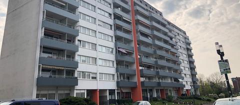 Mehrfamilienhaus in Bad Nauheim - der Tatort