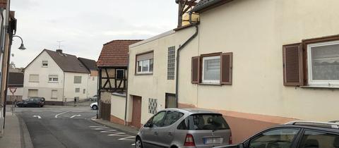 Häuserzeile in Florstadt