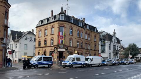 Polizei in Frankfurt-Heddernheim