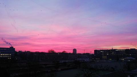 Himmel über Frankfurt