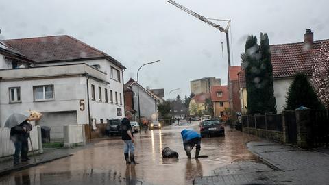 Hochwasser in Fulda