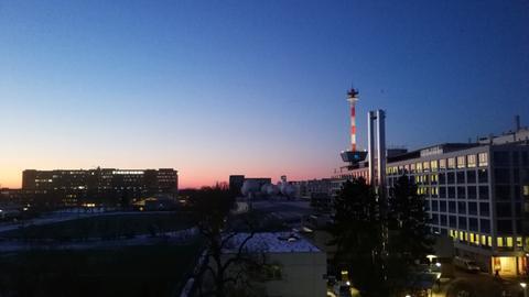 Sonnenaufgang über dem hr