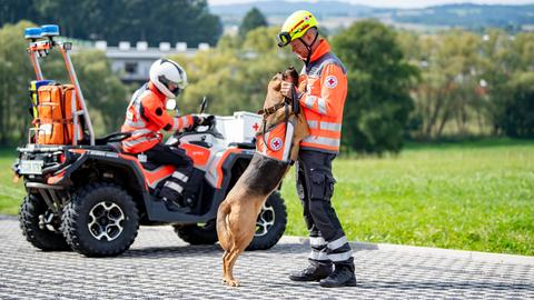 Die Hundestaffel des Deutschen Roten Kreuzes in Fulda