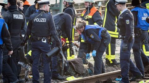 Polizeieinsatz im Hauptbahnhof