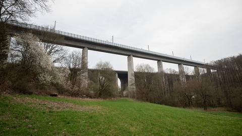 ICE-Strecke: Teißtalbrücke