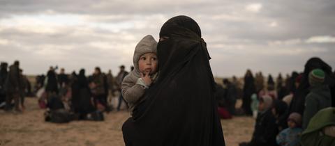 IS Frau und Kind