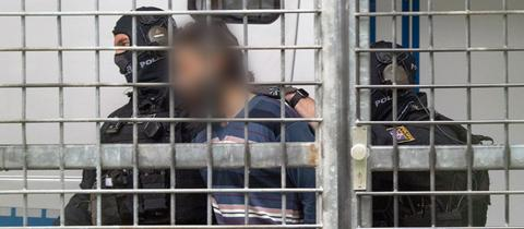 IS-Verdächtiger kommt vor Haftrichter in Frankfurt