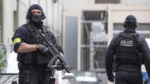 Terrorverdächtiger vor Haftrichter