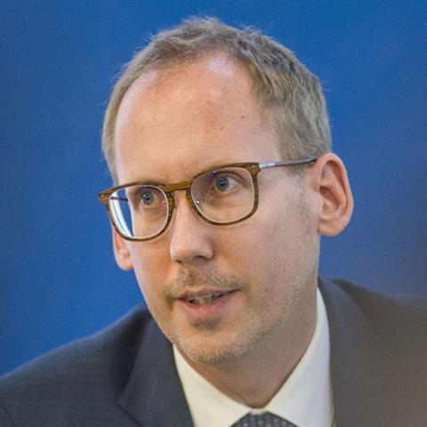 Herr Klose im Landtag