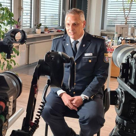 Jürgen Fehler, Leiter der Polizeidirektion Main-Kinzig, im Interview