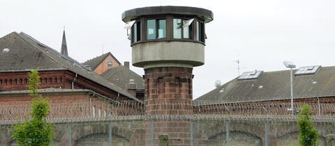 Wachturm der JVA KAssel.