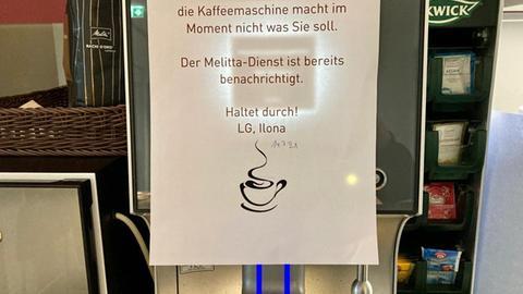 Kaputte Kaffeemaschine
