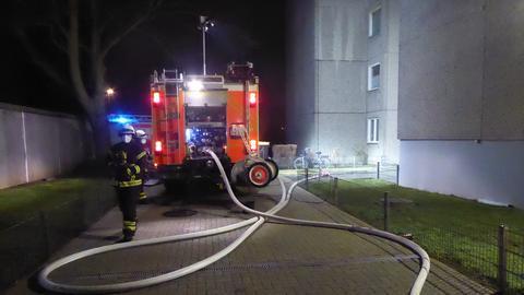 Feuerwehreinsatz in Kassel