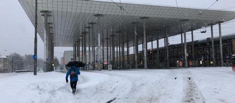 Kassel Wilhelmshöhe Schnee