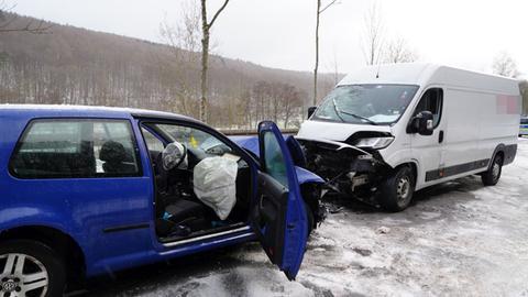 Kaufungen Unfall