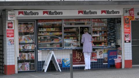 Kiosk in Frankfurt