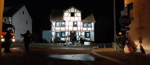 Ein Mann brach in ein Haus in Kirchheim ein und tötete einen Menschen.
