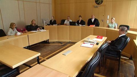 Urteilsverkündung vor dem Frankfurter Landgericht