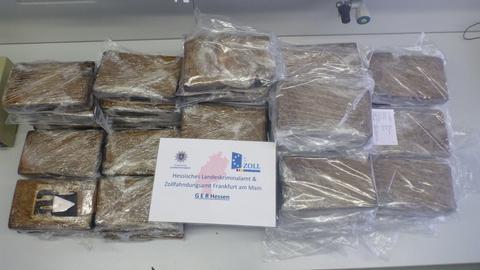 Kokain im Wert von 3 Mio Euro war in Bananenkartons versteckt