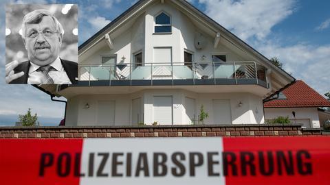 Regierungspräsident Lübcke wurde auf der Terrasse seines Hauses in Wolfhagen erschossen.