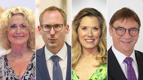 Portraits von Fröhlich, Klose, Reichenbacher, Jung