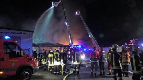 Feuerwehreinsatz in Künzell