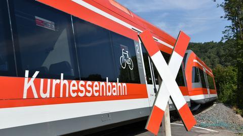 Sujetbild Zug der Kurhessenbahn