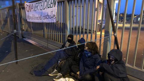 Protest Kassel Krauss-Maffei Wegmann