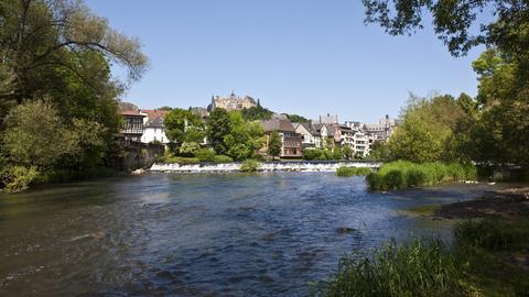 Lahn bei Marburg