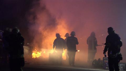Feuerwehreinsatz in Lampertheim