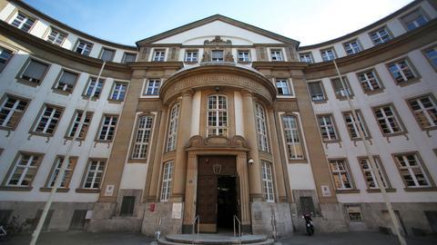 Landgericht und Amtsgericht in Frankfurt